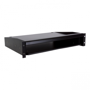 Sliding shelf for 19-inch cabinet 60cm keyb./monit.