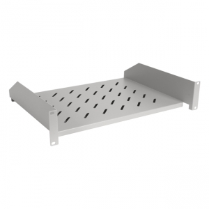 Front mount shelf for 19-inch cabinet 60cm