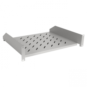 Front mount shelf for 19-inch cabinet 80cm