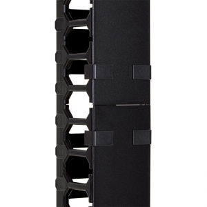 Vertical cable organizer for cabinets NCB-42U