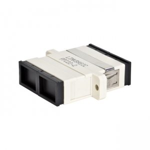 Single-Mode Optical Fibre SC-SC Duplex Adapter