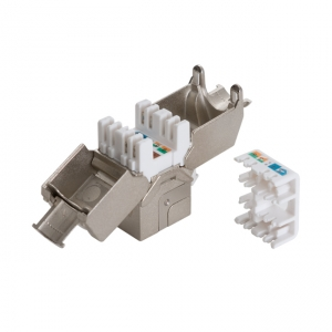 Keystone Module FTP cat. 6A - 180°