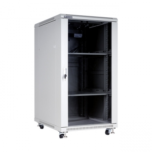 "Floor-standing rack cabinet 19"" 22U 600x800mm"
