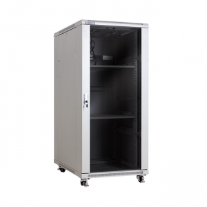 "Floor-standing rack cabinet 19"" 27U 600x1000mm"