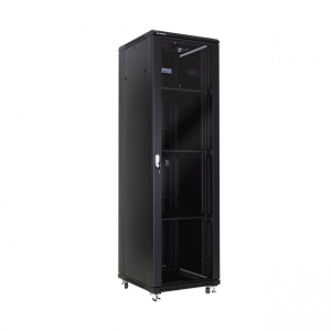 "Floor-standing rack cabinet 19"" 42U 600x600mm"