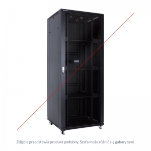 "Floor-standing rack cabinet 19"" 32U 600x800mm"