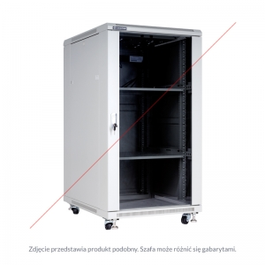 "Floor-standing rack cabinet 19"" 42U 600x800mm"