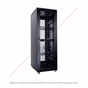 "Floor-standing rack cabinet 19"" 47U 800x1000mm"