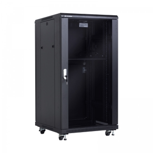 "Economical floor-standing cabinet 19"" 22U 600x600mm"