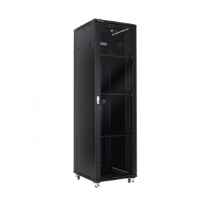 "Economical floor-standing cabinet 19"" 42U 600x600mm"