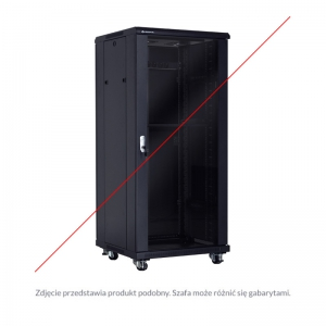 "Economical floor-standing cabinet 19"" 18U 600x600mm"
