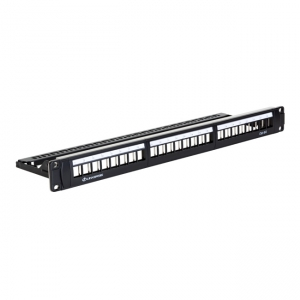 Patch panel 19 24 porty UTP kat. 6A