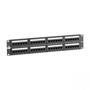 "Patch panel 19"" 48 portów UTP kat. 5e"