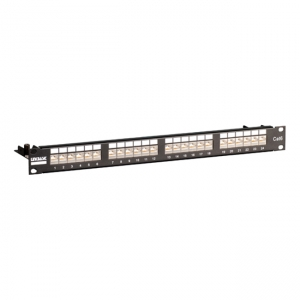 Patch panel 19 24 porty UTP kat. 6