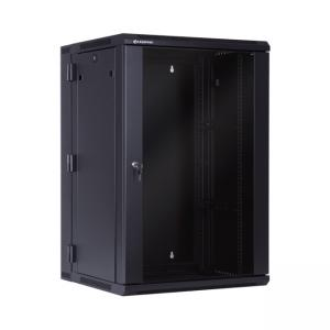 "Two-section hanging cabinet 19"" 18U 550mm"
