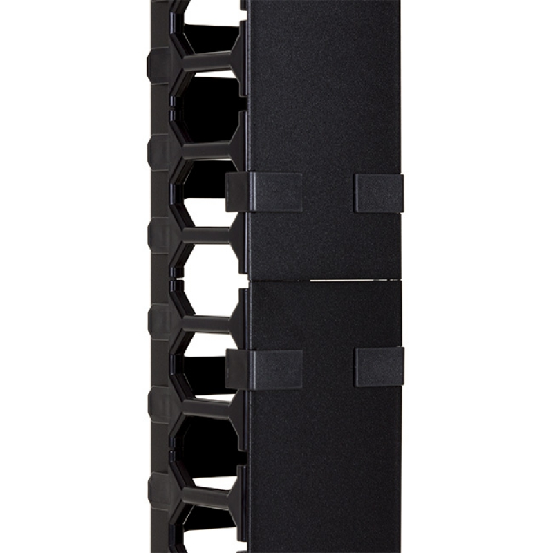 Vertical cable organizer for cabinets NCB-27U