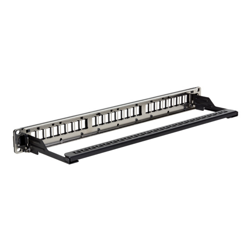 "Patch panel 19"" 24 port UTP kat. 6A"