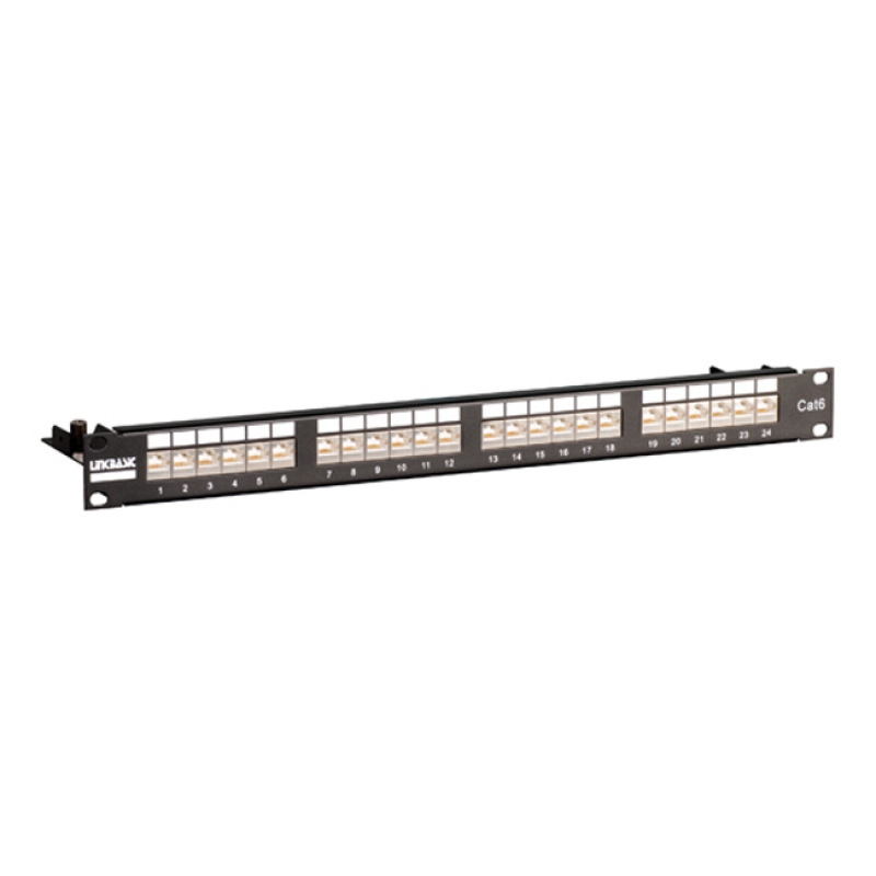 "Patch panel 19"" 24 porty UTP kat. 6"